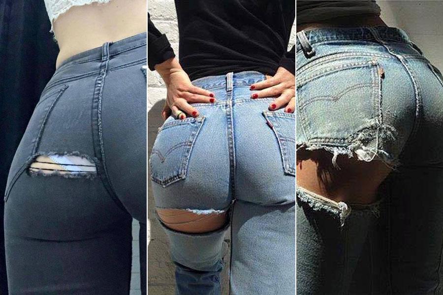 Fotos de culos con pantalones